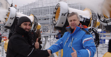 В рамках подготовки к Зимней универсиаде 2019 построена и введена в эксплуатацию система оснежения