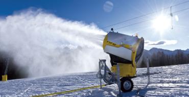На ГК «Ежовая» прошли успешные испытания системы искусственного снегообразования