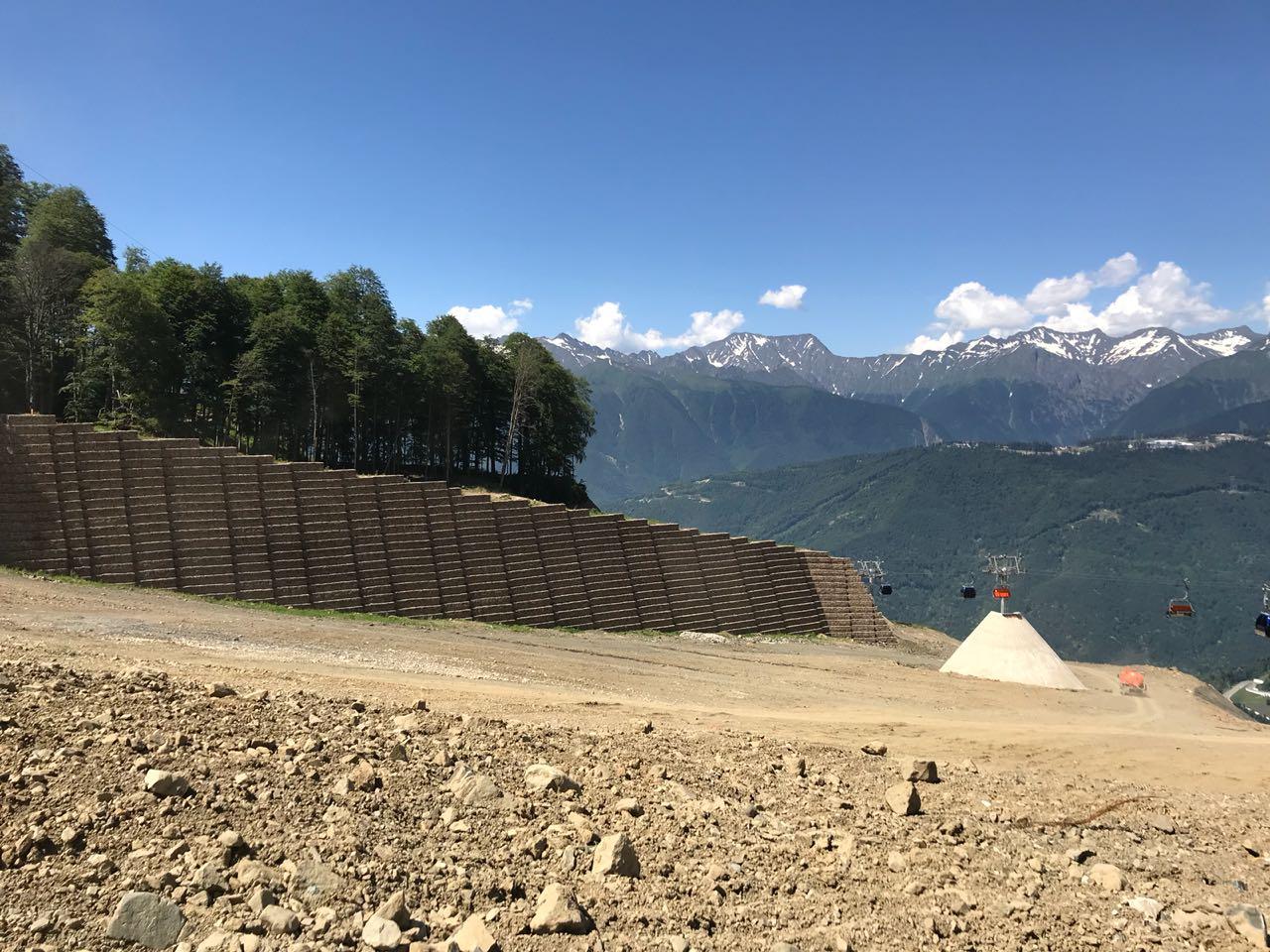 Разработана проектная документация по системе искусственного снегообразования и системе освещения новых горнолыжных склонов