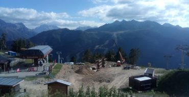The installation of a complex of cable cars has begun at the all-season tourist and recreational complex Arkhyz