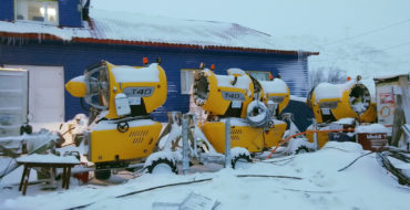 Group of companies SNOWPROM conducts preparatory work in Kirovsk
