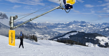 Artificial snow systems are being modernized on the slopes of the ski resort BigWood