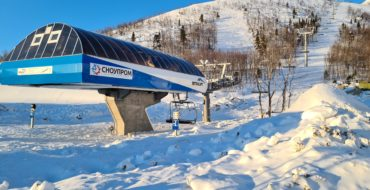 In Kirovsk, work has been completed on the commissioning of a four-seat cable car