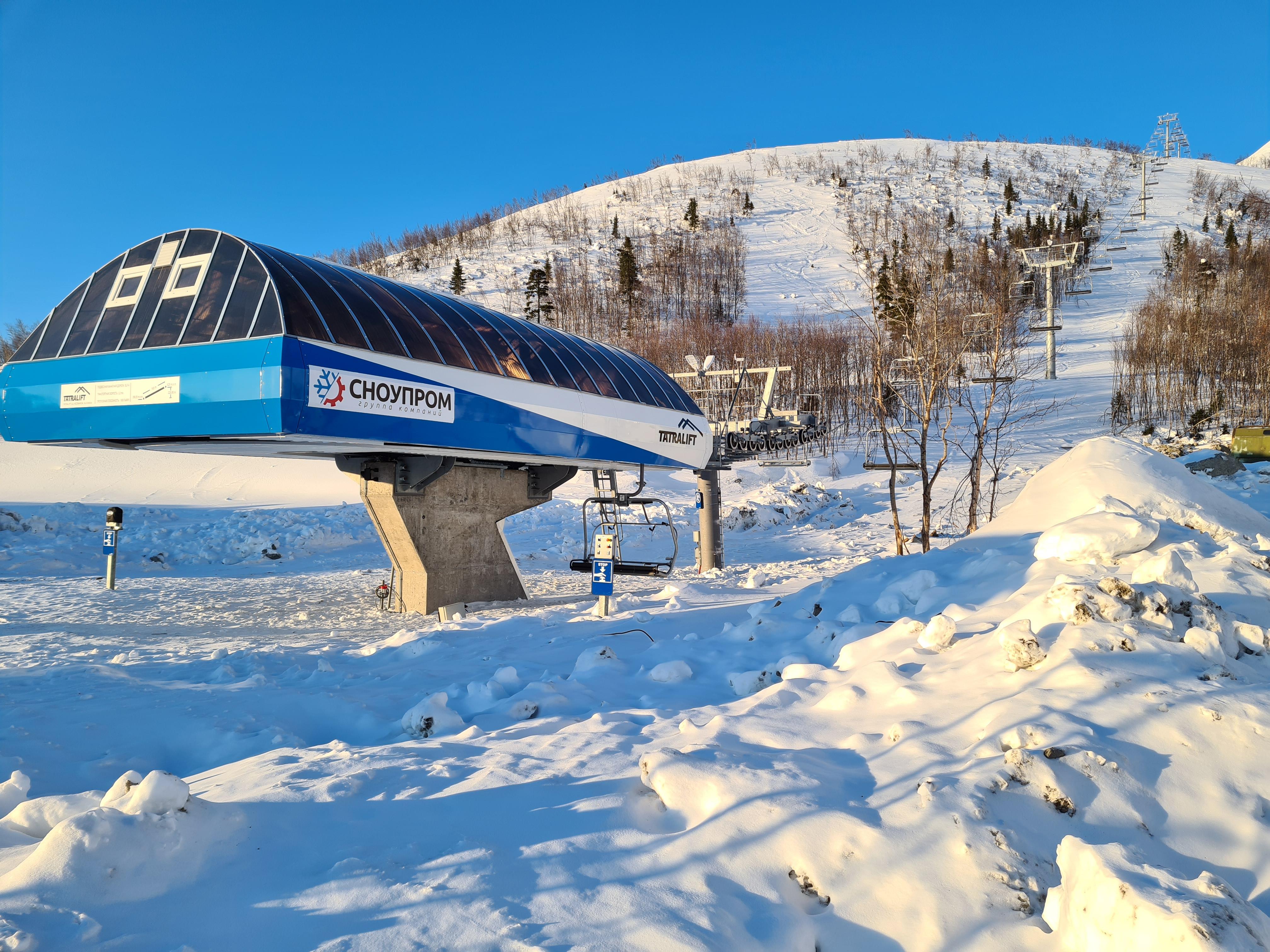 В Кировске завершены работы по вводу в эксплуатацию четырехместной канатной дороги